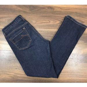 Dkny Ave B Jeans Size 6R Straight Leg
